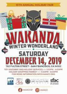 Wakanda Winterwonderland Flyer