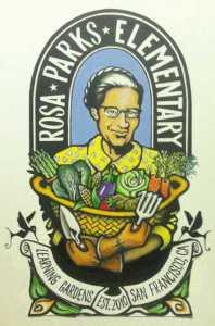 Rosa Parks Garden logo
