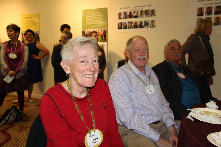 Frances Nealey, Paul Olsen, Bob Barnwell from the Hayes Valley Neighborhood Association