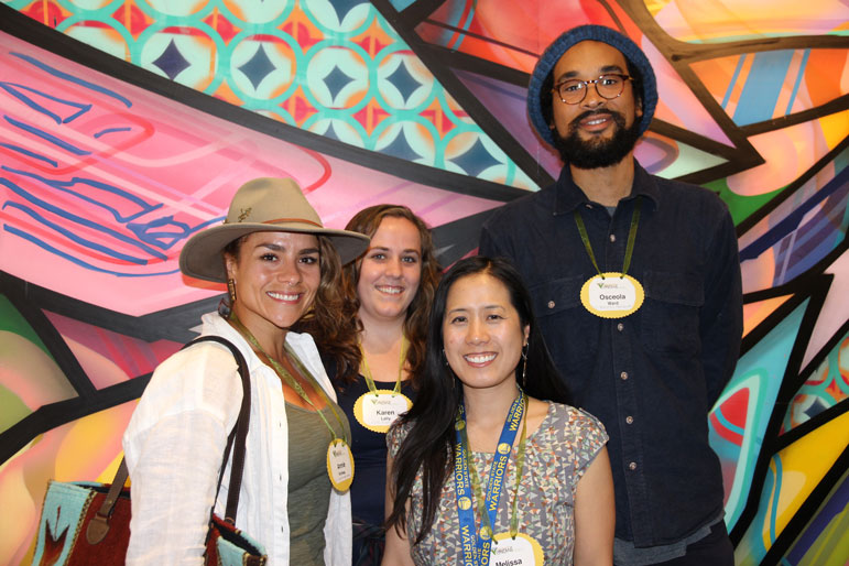 CommunityGrows staff: Ana Valdas, Karen Lally, Melissa Tang and Osceola Ward