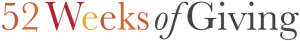 52 Weeks of Giving Logo