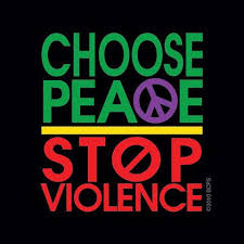 choose peace not violence
