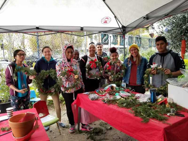 BEETS at the Wreath and Card Making Event 12.16.18