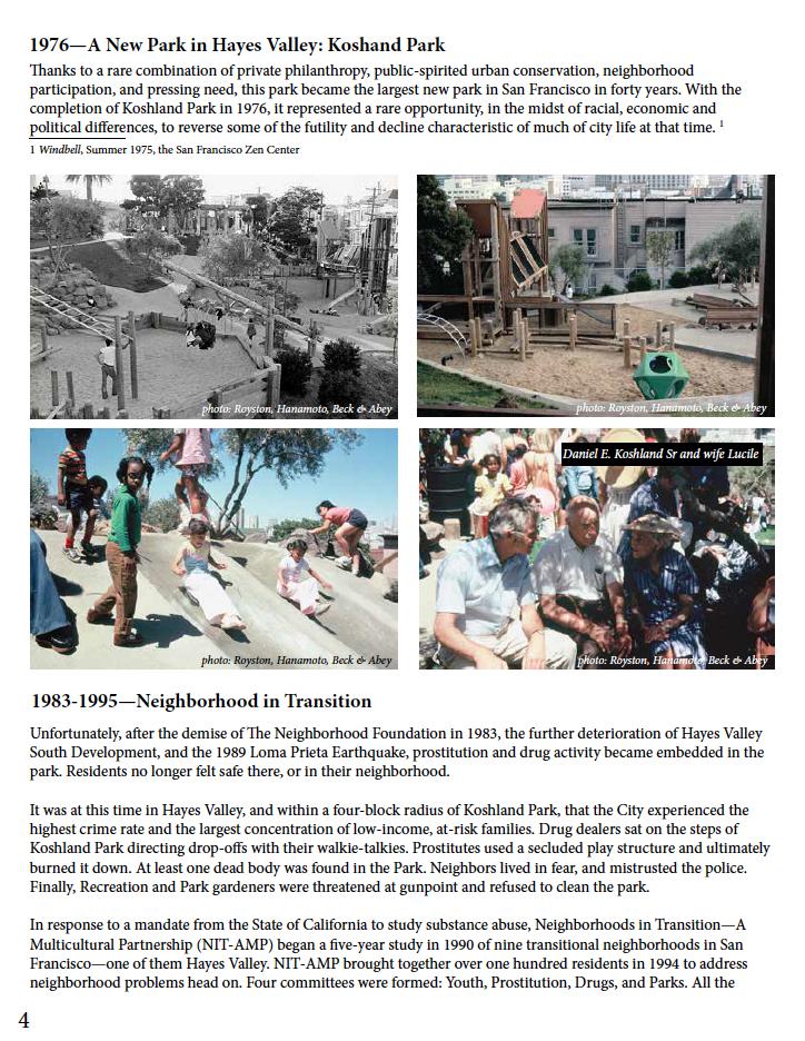 CG Koshland history booklet image