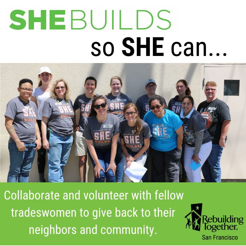 © Rebuilding Together SF (SheBuilds campaign)